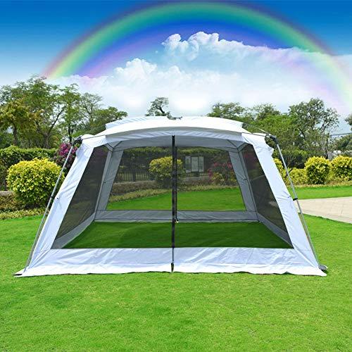 Instant-canopy Zelt (XNNSH Geräumiges Screen House, Instant Canopy Shelter Screen Zelt, einfache Installation innerhalb weniger Minuten und gut für Familienpicknick geeignet für 5-8 Personen,A310X310X210CM)