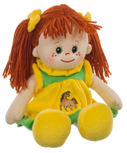 Heunec 470477 - bambola lotte con capelli rossi, misura l