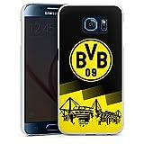 DeinDesign Samsung Galaxy S6 Hülle Case Handyhülle BVB Logo Borussia Dortmund