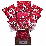 Maltesers Chocolate Bouquet - Sweet Hamper Tree Explosion...