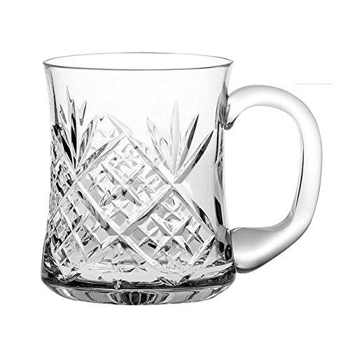 Royal Scot Kristall Edinburgh 1Pint Bierkrug Bier Glas in einer Geschenkbox
