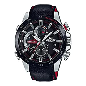 Casio Edifice Analog Black Dial Men's Watch - EQB-800BL-1ADR (EX401)