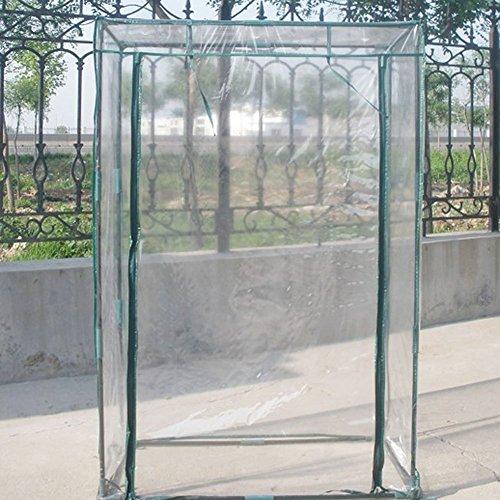 Mini Pflanzen Gewächshaus, XGZ PVC transparent Haushalt Pflanzen, Tomaten Garten Zelt Indoor...