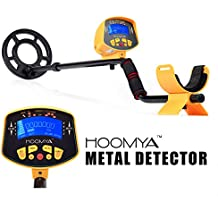 HOOMYA Detector de Metales de Alta Sensibilidad MD-3010II - 8.2 Pulgadas Bobina de Búsqueda