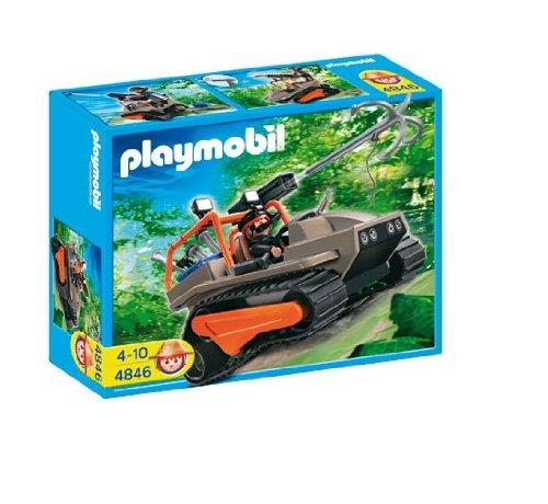PLAYMOBIL® 4846 - Schatzjäger - Schatzräuber Kettenraupe