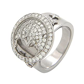 Popleys 18k White Gold and Diamond Ring
