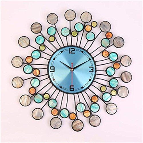Lkopsla orologi da parete orologi e orologi orologio da parete soggiorno moderno creativo semplice circolare orologio orologio grande camera da letto disattivare pocket watch orologio al quarzo