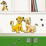 Sticker Wandtattoo Kinder Simba (Disney) Neue Bilder