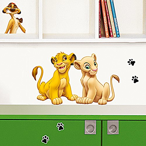 Wandbild Deco-Sticker SIMBA