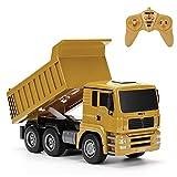RC-Muldenkipper, 1:16 Allradantrieb-Fernbedienung Muldenkipper-LKW, Schweres Baufahrzeug, Hobby-Spielzeug - Geschenk Für Kinder By globalqi