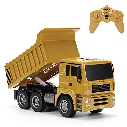 RC Auto kaufen LKW Bild: RC-Muldenkipper, 1:16 Allradantrieb-Fernbedienung Muldenkipper-LKW, Schweres Baufahrzeug, Hobby-Spielzeug - Geschenk Für Kinder By globalqi*