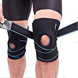 #8: Adjustable Modern Design Knee Sleeve for Men and Women (Free Size, 1 Piece)
