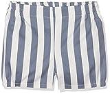 Fina Ejerique P17B0962, Pantalones Cortos para Bebés, Multicolor (Rayas), 104 (Tamaño del Fabricante:4)