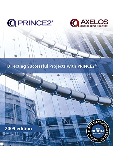 Book's Cover of Directing Successful Projects With PRINCE2