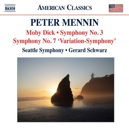 Mennin: Moby Dick - Symphonies Nos. 3 and 7