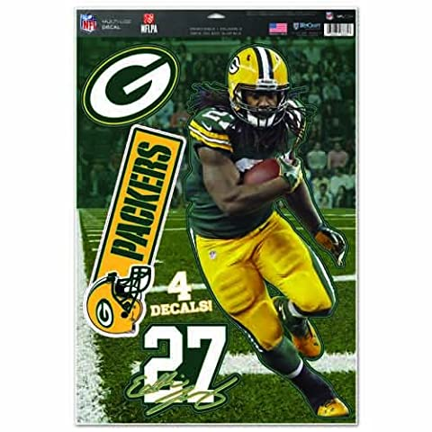 NFL Green Bay Packers Eddie Lacy Multi-Use Decal Sheet, 11