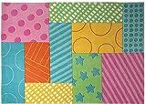 ESPRIT Teppich Kids Patchwork Garden ESP-3815-02, Teppichgröße:120 x 180 cm