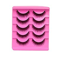 Mujer pestañas postizas, ihee nuevo Colección 5 Pair/lot Criss Cross False Eyelashes Lashes voluminous Hot Eye Lashes