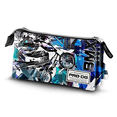 PRODG BMX Estuches, 24 cm, Azul
