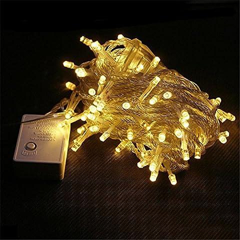 LED-Lichter String Lichter Beleuchtung Engineering gewidmet Weihnachtsschmuck Hochzeit Dekorationen Laternen , warm (Laterne Weihnachtsschmuck)