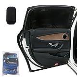 Lictin 2 Pack Parasol de Coche-Visera para Ventana lateral de coche, Malla proporciona la máxima protección contra los rayos UVA para bebés, niños y mascotas, Compatible con la mayoría de coches