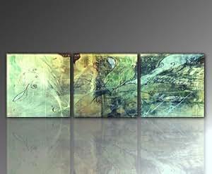 top preis wandbild 3 bilder insgesamt 150x50 cm unio. Black Bedroom Furniture Sets. Home Design Ideas