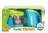 Joueco bn0196723Wasserkocher + Küchenmaschine klein, blau/grün
