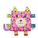 sunshineBoby Infant Baby Soft Sleep beruhigende Handtuch Sicherheitsdecke Handtuch BB Bar Sound Baby Aktivität Plüsch Toy Kinderwagen und Reise-Aktivität Bar und BB-Gerät (A)