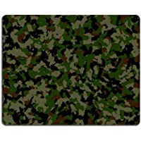 Army camouflage pattern Mouse Pads Customized Made to Order Support Ready 9 7/8 Inch (250mm) (Army Camouflage Pattern)