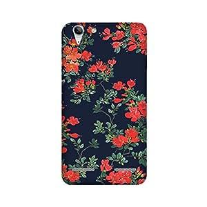 StyleO Lenovo K5 Plus Back Cover, Deisgner Case for Lenovo K5 Plus - Beautiful Red Flowers Pattern