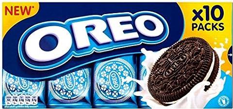 Biscuits Oreo - Original (10 par paquet - 220g) - Paquet de 6
