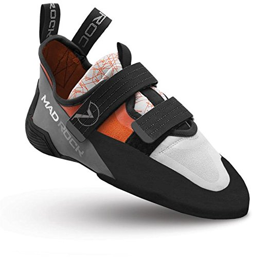 Mad Rock Flash Climbing Shoes Unisex Orange/White Schuhgröße US 12 | EU 46 2018 Kletterschuhe