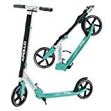 Apollo XXL Wheel Scooter 200 mm - Phantom Pro Menthe est Un City Scooter Trotinette de Luxe, City-Roller Pliable et réglable en...