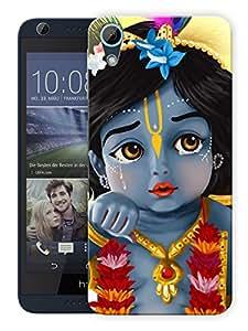 "Humor Gang Krishna Bal Roop - - Indian Hindu God Printed Designer Mobile Back Cover For ""HTC DESIRE 626"" (3D, Matte Finish, Premium Quality, Protective Snap On Slim Hard Phone Case, Multi Color)"