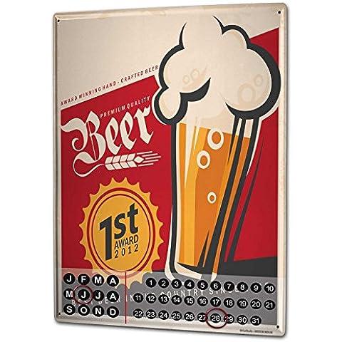 Calendario perpetuo Manifesto Premio per la birra Magnetico (Perpetuo Premio)