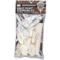Warrior Kit de cadena de malla suave de portero (talla única, blanco)