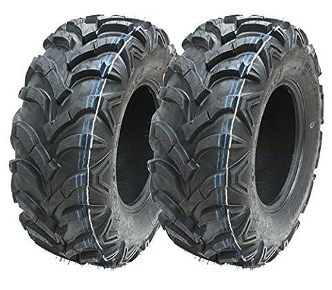 2 - Viererkabel Reifen 24X8.00-11 4ply WANDA ATV Reifen 24. 8. 11