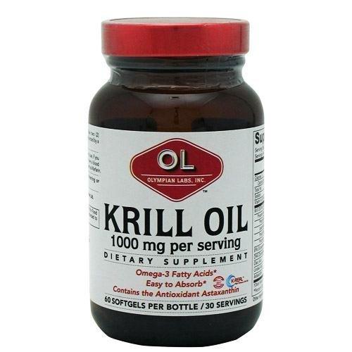 Krill Oil 1000mg, 60 sgel (Multi-Pack)