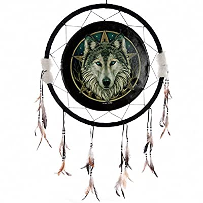 Wolf Head Dreamcatcher Celtic 60 CM
