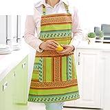 DXG&FX Ärmellose Schürze Küche Wasser und Öl Beweis Erwachsene Overall Arbeitskleidung Anzug-B