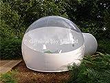 Tente Gonflable De Bulle De PVC De Tente De Bulle D'adulte De Tente De Bulle De Coupe-vent Imperméable,Translucent-5sqm