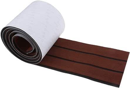 EVA Foam Teak Sheet Bodenbelag Bootsbelag Selbstklebende Unterlage 94,5 × 7