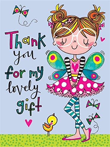 Rachel Ellen Designs–Vielen Dank für mein Geschenk–Fairy (5Stück)
