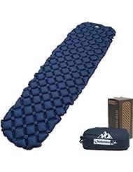 Rembourrage pour sac de couchage OutdoorsmanLab Ultralight–Ultra Compact pour randonnée, camping, Voyage, avec conception très confortable de cellule gonflable