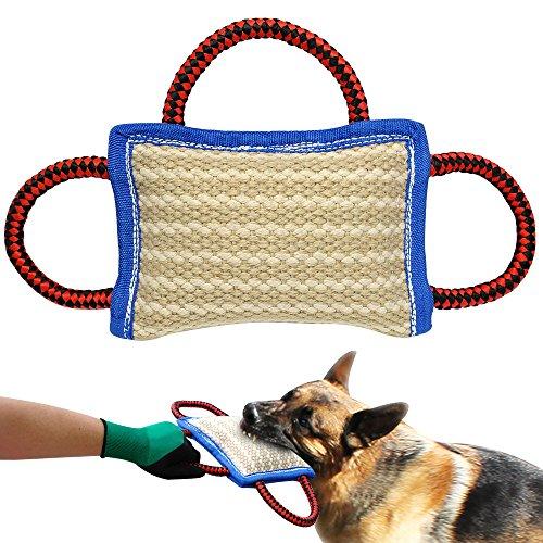 PET ARTIST Beißkissen mit Handschlaufen Hundetraining… | 00600977066834