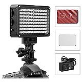 GVM Panneau vidéo à LED Dimmable 3200K-5600K CRI95+ éclairage LED vidéo pour...