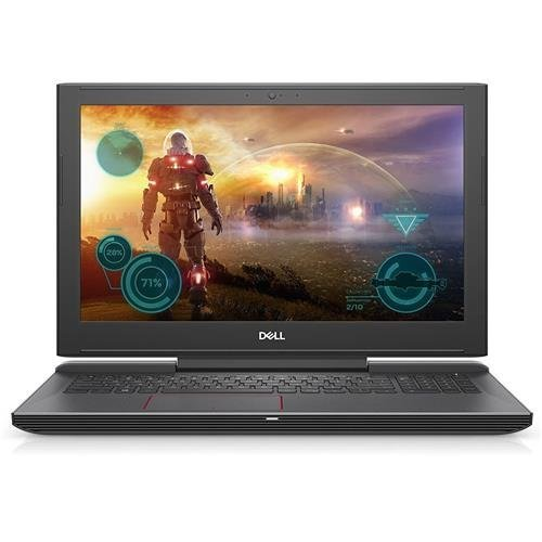 Dell Laptop Computer i7577-5241BLK-PUS Inspiron LED Display Gaming Laptop(7th Gen Intel Core i5/GTX 1060 6GB Graphics/128GB SSD) - Matte Black image