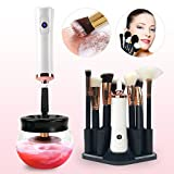 Make up Pinsel Reiniger Set, elektrische Instant Make-up Pinsel Reinigung und Trockenmaschine, 8...