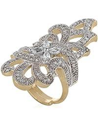 Jewels Galaxy Adjustable Fascinating Adjustable Cocktail Ring