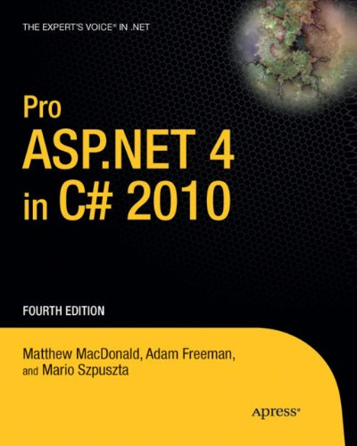Pro ASP.NET 4 in C# 2010 (Expert's Voice in .NET) (English Edition)